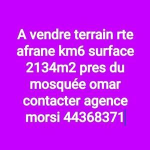 Sfax-immobilier-A-Vendre-Terrains-2134m²
