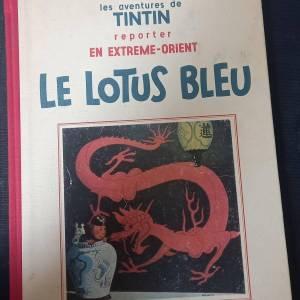 Kairouan-loisirs_et_jeux-BD-Tintin-le-lotus-bleu-N5-fac-similé-noir-et-blan