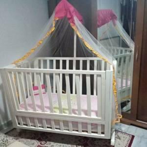 Tunis-bebe_et_enfant-lit-bébé-en-bois-rouge