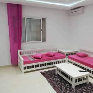 Nabeul-immobilier-a-hammamet-alouer-APART-luxe-s+2-meublé-chauffage