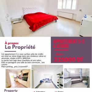 Nabeul-immobilier-A-Vendre-Appartements-Meublé-2-Pièces