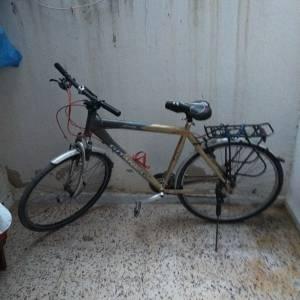 Beja-vehicules_et_pieces-a-vendre-vélo-gitane-700-gris-et-crème-on-bonne-ét
