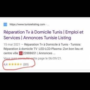 Tunis-emploi_et_services-Réparation-TV-à-domicile