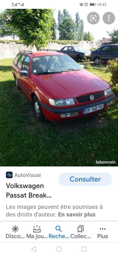 Carte voiture Volkswagen Passat