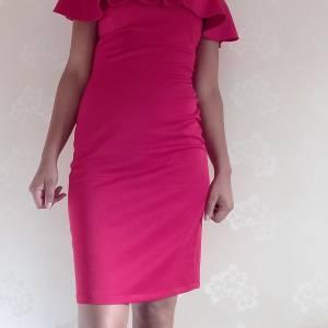 Manouba-mode_et_beaute-robe-rouge-bon-état